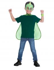 PJ Masks™-Gecko Kostüm-Set 3-teilig für Kinder Lizenz grün-weiss