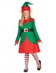 Wichtelkostüm mit Ohren für Mädchen Weihnachten