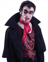 Schaurige Vampir-Maske Halloween-Zubehör bunt