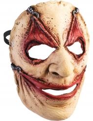 Horror Maske mit Hautlappen für Erwachsene Halloween