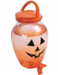 Kürbis Getränkespender Halloween 4,37 Liter