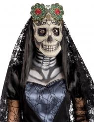 Stoffmaske Dia de los Muertos Halloween