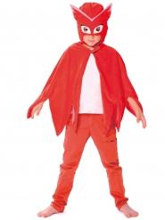 PJ Masks™-Eulette-Kostümset Lizenzartikel Umhang und Kopfbedeckung rot