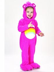 Glücksbärchis™-Lizenzkostüm Hurrabärchi™-Kleinkinderkostüm pink