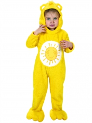 Sonnenscheinbärchi-Lizenzkostüm für Kleinkinder Glücksbärchis™ gelb