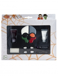 Schmink-Set Skelett Halloween Make-up 8-teilig bunt