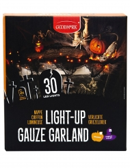 LED Lichterkette orange Halloween