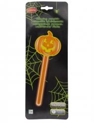 Kürbis Leuchtstab Halloween Zubehör orange