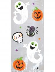 Halloween-Beutel für Süßigkeiten 20 Stück 29x12,7x7cm bunt