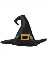 Magischer-Hexenhut Folien-Ballon Halloween-Partydeko schwarz-gold