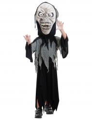 Witziges Sensenmann-Kinderkostüm Halloween schwarz