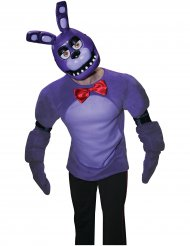 Bonnie™ Halbmaske Videospiel Five nights at Freddy