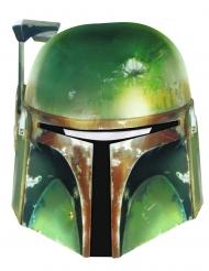 Boba Fett™ Maske für Erwachsene Star Wars™ Pappkarton grün