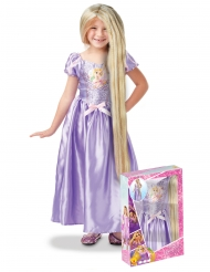Rapunzel™-Mädchenkostüm Disney-Märchen lila-blond
