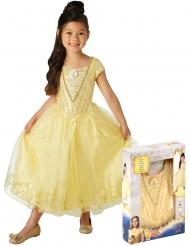 Prinzessin Belle™-Lizenzkostüm für Kinder gold