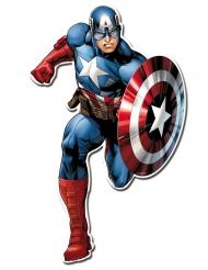 Avengers™ Wanddekoration Superheld 2 Stück bunt 30cm