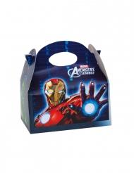 Avengers™-Box Geschenkidee Kindergeburtstag 4 Stück 16x10,5x16cm