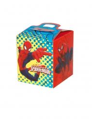 Spiderman™-Geschenkboxen für Kinder 4 Stück bunt 9,5x9,5x11cm