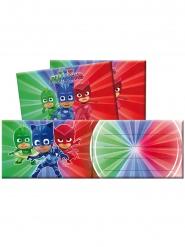 PJ Masks™ Einladungskarten und Umschläge Kindergeburtstag 12-teilig bunt