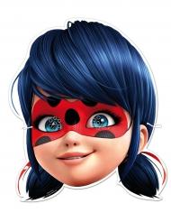 Ladybug™-Papiermasken Lizenzprodukt für Kinder blau 6 Stück 23x21 cm