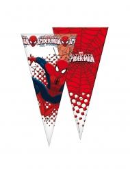 Spiderman™-Süßigkeiten-Beutel Kindergeburtstag 6 Stück rot-weiss-blau 20x40cm