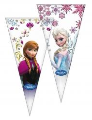 Frozen™-Geschenktüten Partyzubehör 6 Stück bunt 20x40cm