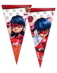Ladybug™-Lizenzartikel Kunststoffbeutel für Süßigkeiten 6 Stück bunt 30x60 cm