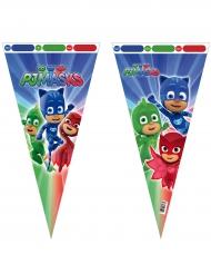 PJ Masks™-Geschenktüten für Süßigkeiten 6 Stück bunt 30x60cm