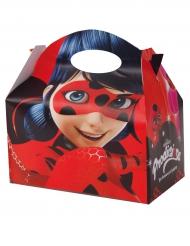 Ladybug™-Vesperbox Lizenzartikel für Kinder 4 Stück bunt 17x25 cm