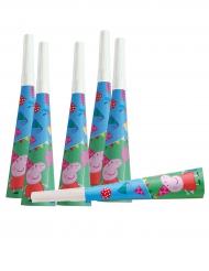 Peppa Wutz™-Trompeten Kinderspielzeug 6 Stück bunt