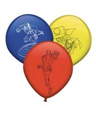 Superhelden Luftballon-Set Avengers™ 8 Stück bunt 30cm