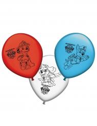 Paw Patrol™-Luftballons Raumdeko 8 Stück bunt 30cm