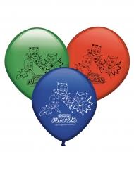 Pyjamahelden™-Luftballons Kindergeburtstag 8 Stück bunt 30cm