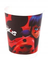 Ladybug™-Pappbecher Lizenzartikel 8 Stück bunt 220 ml