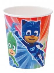 PJ Masks™-Pappbecher Kindergeburtstag Lizenz 8 Stück 220ml