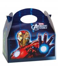 Avengers™-Geschenkbox für Kinder Iron man bunt 16x10,5x16cm