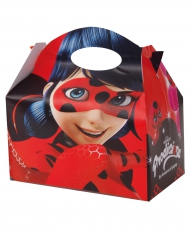 12 Ladybug™-Faltschachteln Lizenzartikel bunt 16 x 10,5 x 16 cm