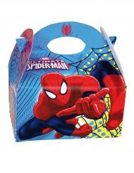Spiderman™-Geschenkbox für Kinder bunt 16x10,5x16cm