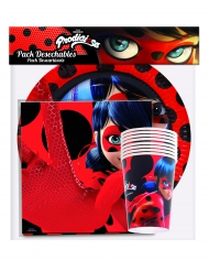 Ladybug™ Party-Set Lizenzprodukte 36-teilig bunt