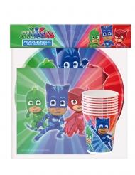 PJ Masks™-Party-Set für Kindergeburtstage 36-teilig bunt