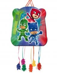 Pyjamahelden-Pinata PJ Masks™ Partyzubehör Kinder bunt 28x33cm