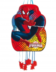 Spiderman™-Piñata rot-blau-gelb