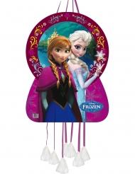 Frozen™-Elsa und Anna Pinata Kindergeburtstag Zubehör bunt 46x65cm