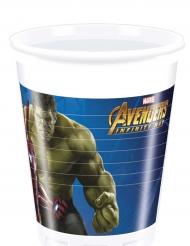 Avengers™-Kunststoff-Becher Infinity War™ bunt 200ml