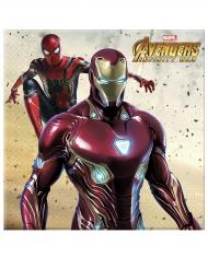 Avengers Infinity War™-Servietten Tischdecko 20 Servietten 33x33cm