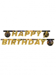 Avengers™-Geburtstags-Girlande Happy Birthday bunt 2m