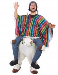 Carry Me Lama Kostüm für Erwachsene