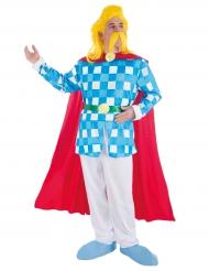 Troubadix™-Lizenzkostüm Asterix und Obelix™ für Herren bunt