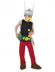 Asterix™-Lizenzkostüm für Kinder Gallier schwarz-rot