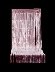 Fransen-Vorhang rosegold 244x92cm